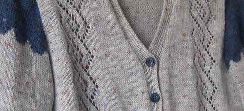 cardigan detail