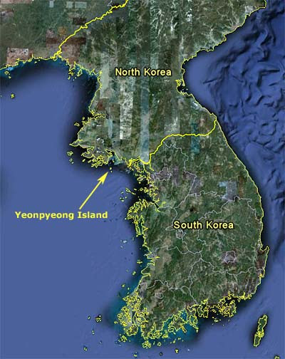 where-is-yeonpyeong-island