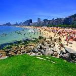 Cobacabana Sonntagsnachmittag im Sommer