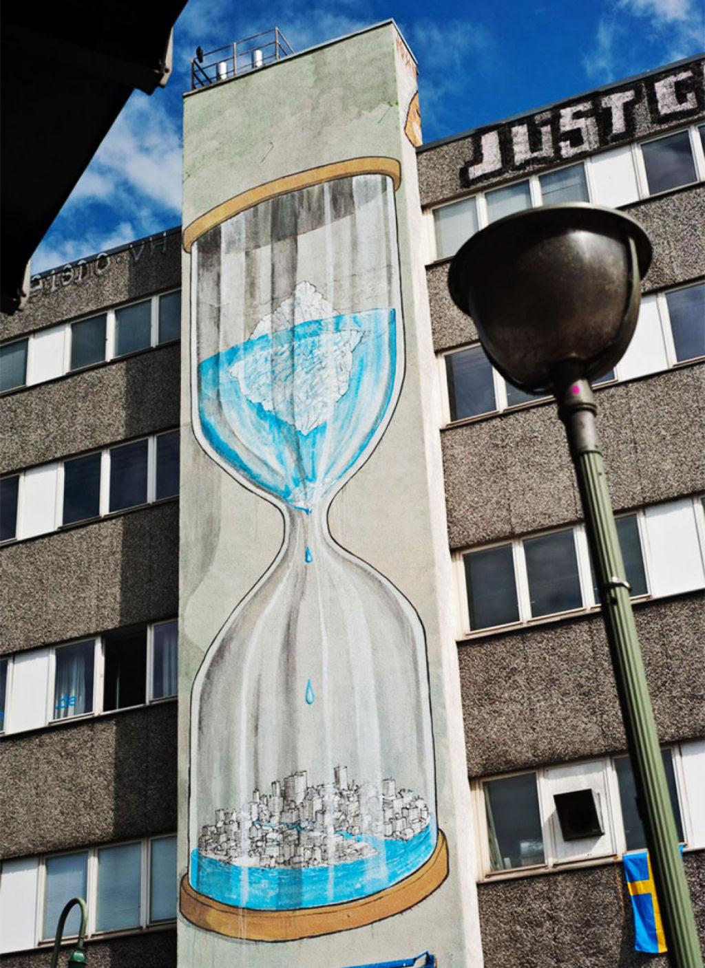 24 eloquentes obras de arte urbana mostrando a desagradável verdade 06