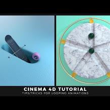 Cara Untuk Membuat Loop Animasi Di Cinema 4D