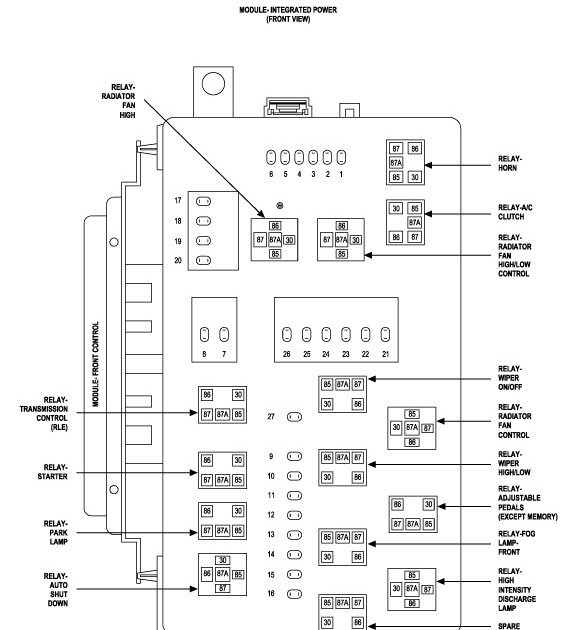 2007 Dodge Charger Radio Wiring Diagram