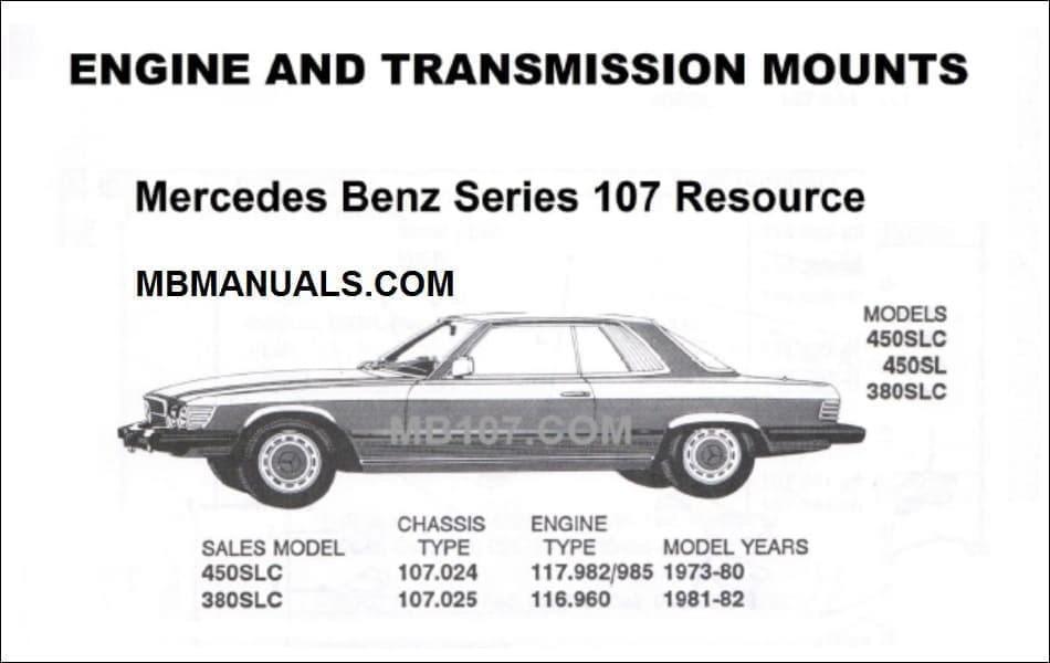 Mercede Benz 450sl Wiring Diagram
