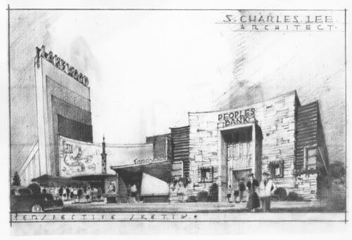 Lakewood Theatre, Lakewood sketch