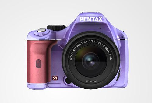 Pentax K-X color selection RiceHighTrashyGreen