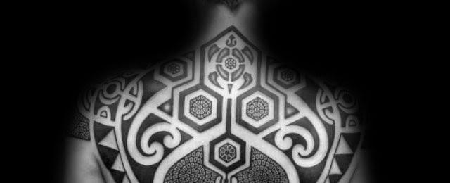 50 Upper Back Tattoos For Men Masculine Ink Design Ideas