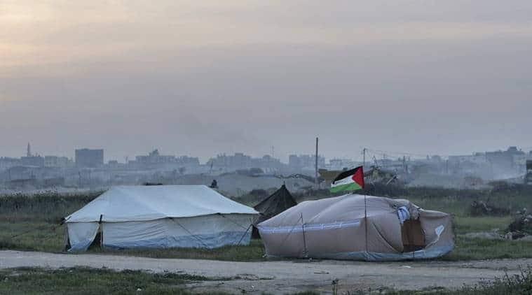 Palestinians prepare mass demonstrations along Gaza border