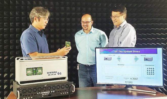 Samsung разработала прототип модуля связи 6G с рекордной скоростью передачи данных