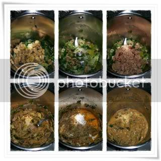 Almofadas de Atum com Cogumelos 2