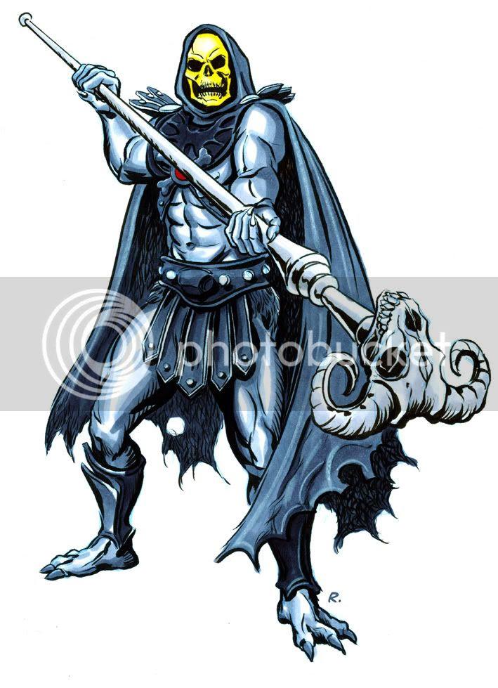 Graeme Neil Reid,Illustration,Skeletor