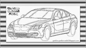 Sketsa Mobil Sedan