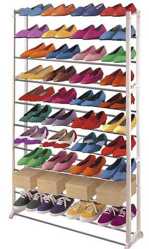 estanteria grande para guardar zapatos