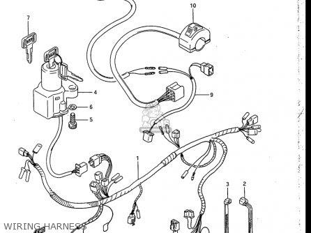 ... Wiring Collection: Wire Harness Offer Kinds Wire Harness Condition on suzuki c50 wiring diagram, Suzuki Rm250 Wiring Schematics ...