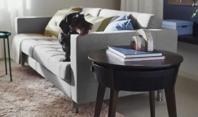 IKEA выпустила собственный очиститель воздуха, совмещенный с кофейным столиком