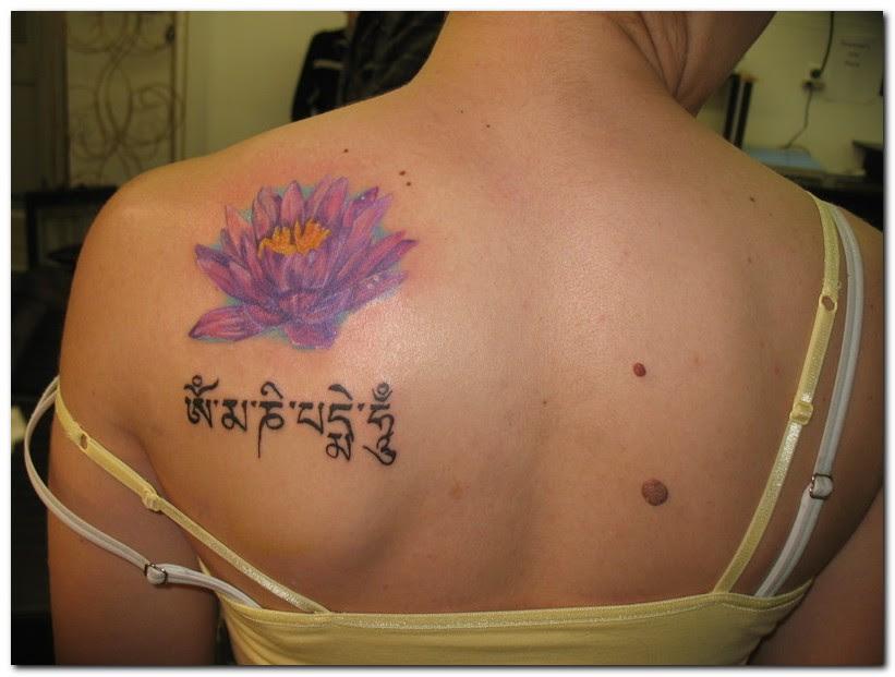 65 Beautiful Lotus Shoulder Tattoos