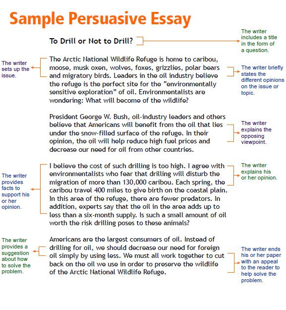 how to write a persuasive essay about yourself