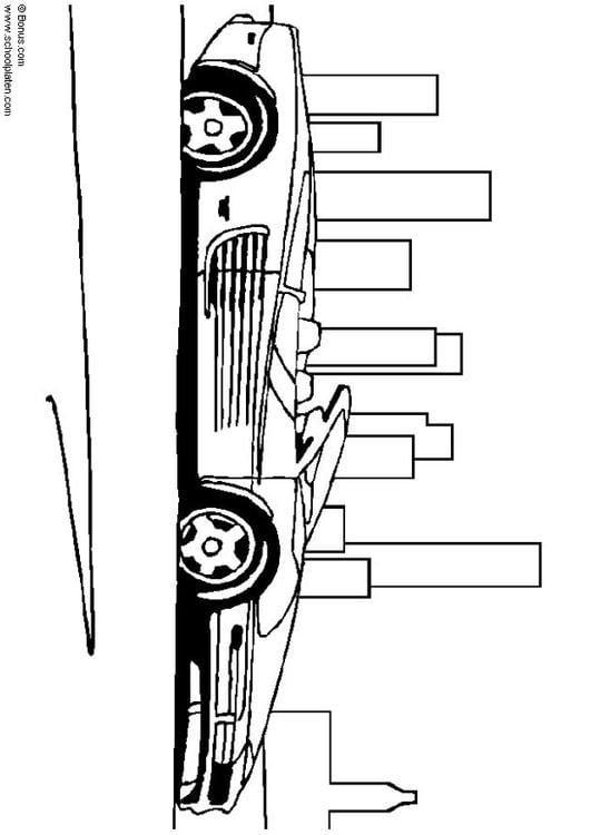 Stemma Ferrari Da Colorare Disegno