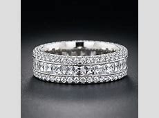 Best 25  Wide wedding bands ideas on Pinterest   Thick wedding bands, Wide band diamond rings