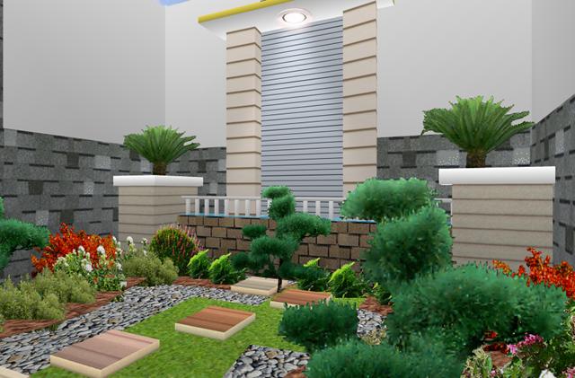 Gambar Taman Rumah Minimalis  Rumah Minimalis