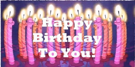Dancing Birthday Candles. Free Funny Birthday Wishes