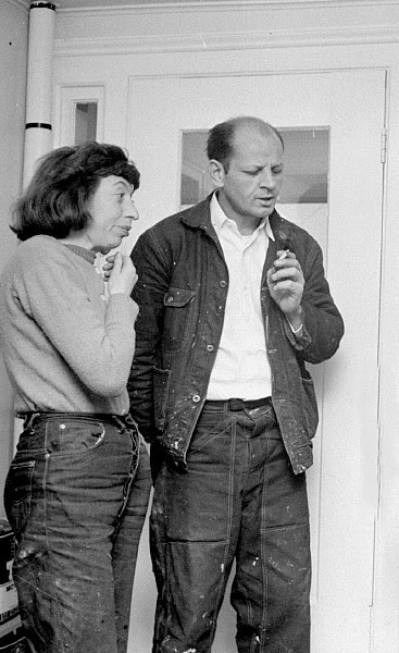 Jackson Pollock & Lee Krasner - NY,1949