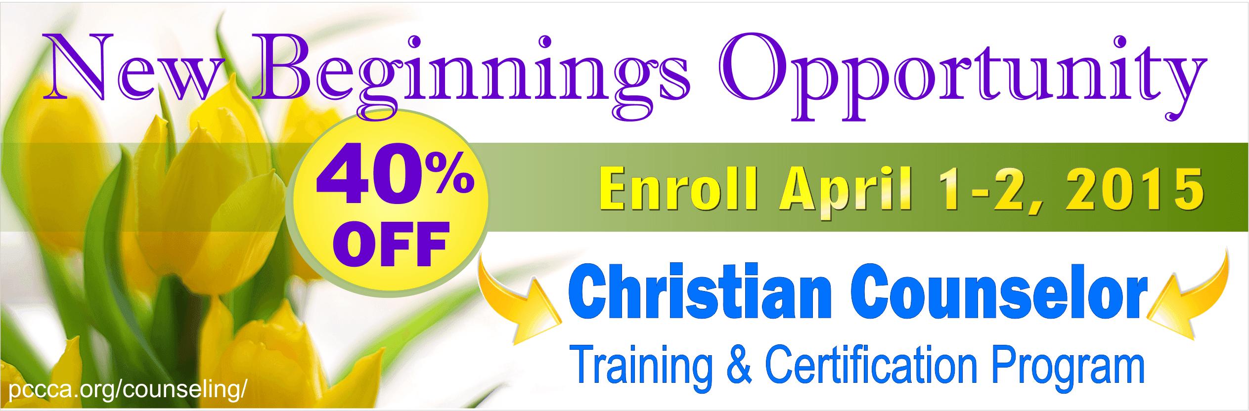 counseling christian certification training biblical