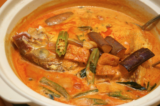 Curry Red Snapper Fish Head - new