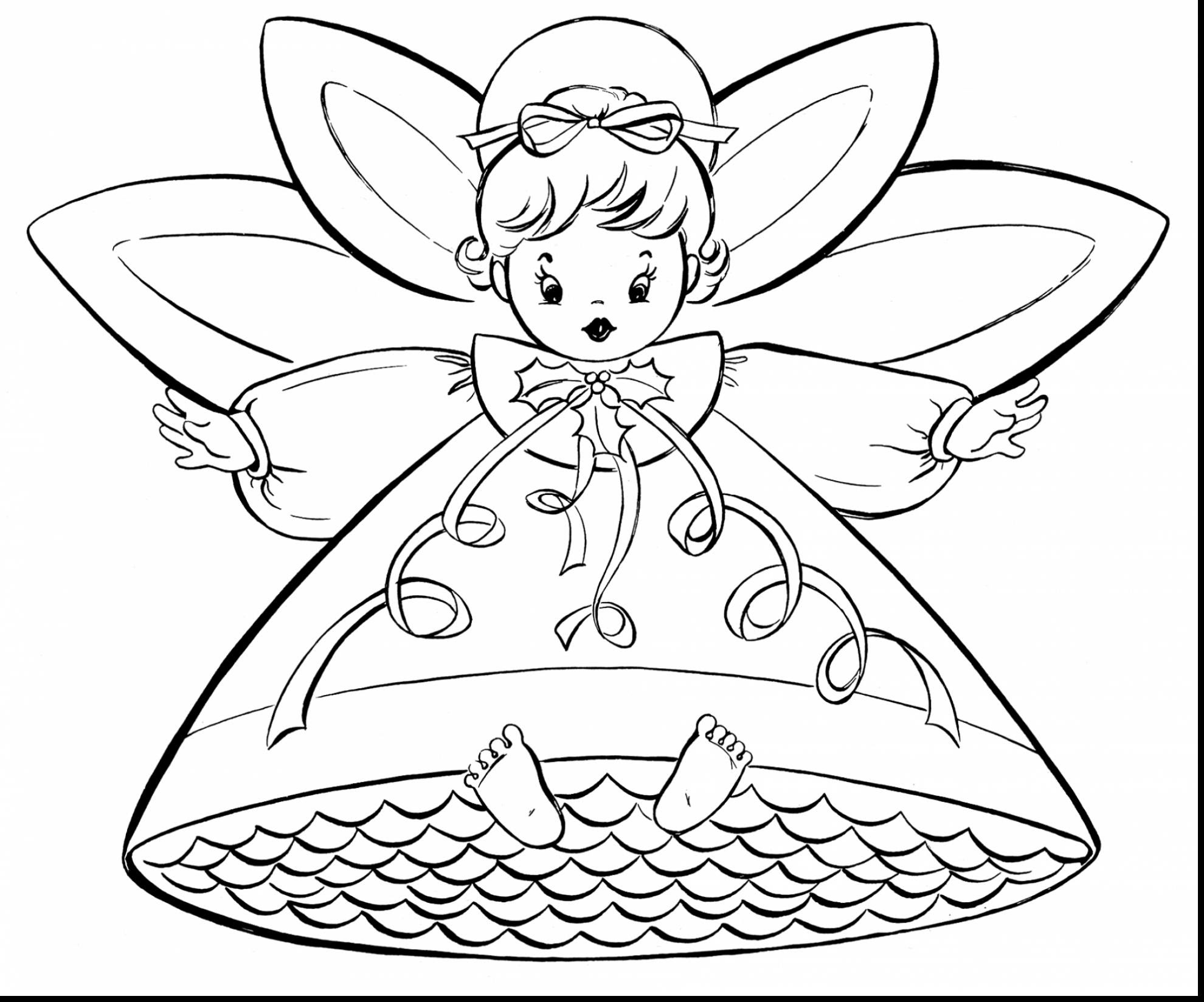 Free Fairy Coloring Pages For Adults To Print Coloring And Drawing