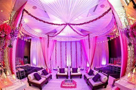 Mandap pink and purple mandap #indianwedding, #