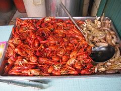 Crayfish and Ghost Shrimp, Shanghai