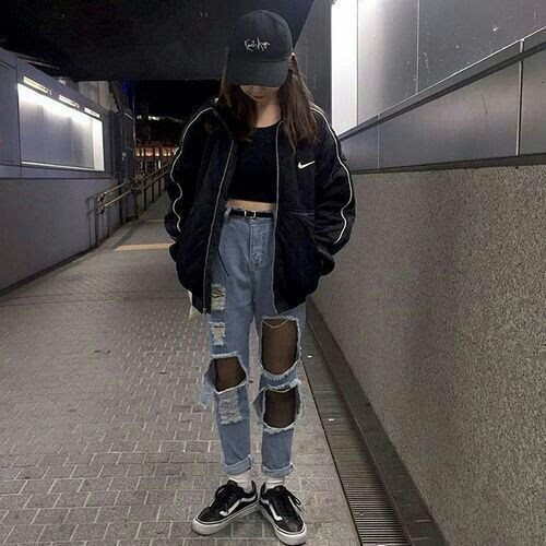 ulzzang bad girl ver  korean fashion amino