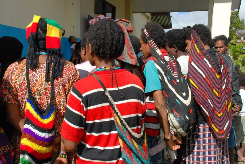 Noken is a fashion in Papua