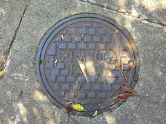 Cuyahoga Telephone Company Manhole cover