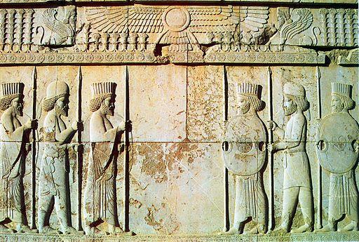 Persepolis The Persian Soldiers
