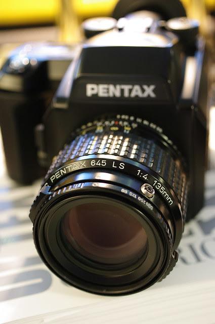 Pentax 645 LS 135mm f/4.0