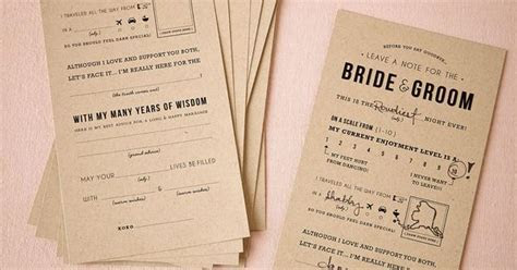 Adlib Notes for the bride & groom from BHLDN   Paper Goods