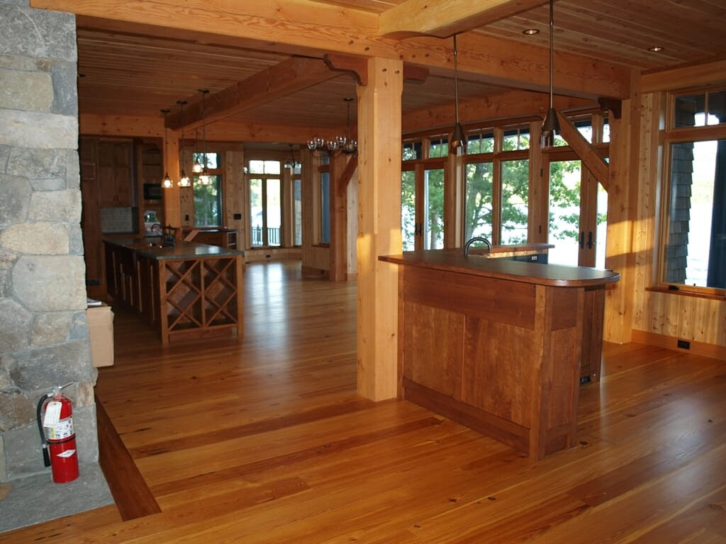 Design Details in a Timber Frame Home