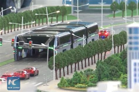 chinas land airbus    drive    bus