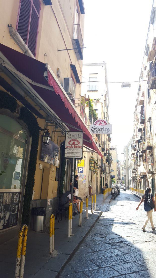 Pizzeria Starita a Materdei, Naples, Italy