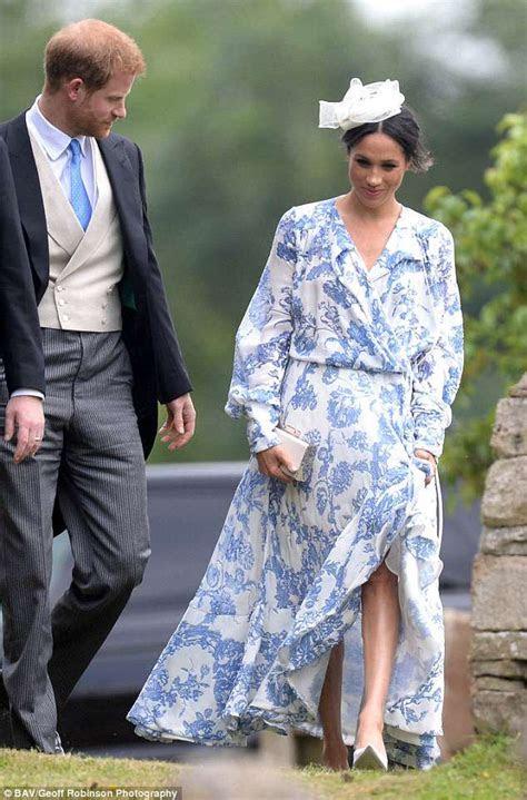 Meghan Markle's £4k floaty wrap dress gets mixed reactions