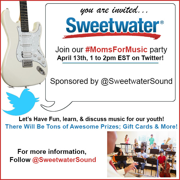 Sweetwater music pro audio twitter party