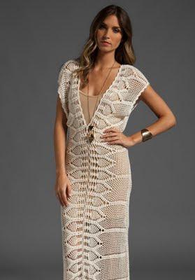 624910 Vestidos longos de crochê 11 Vestidos longos de crochê: fotos, dicas para usar