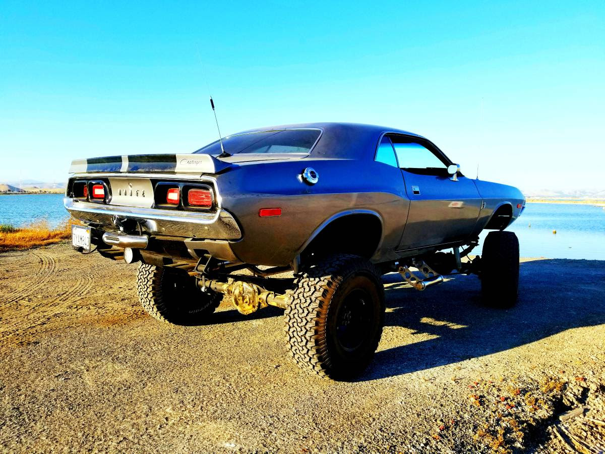For Sale 1972 Challenger With A Chevy Vx4 Chassis Engine Swap Depot