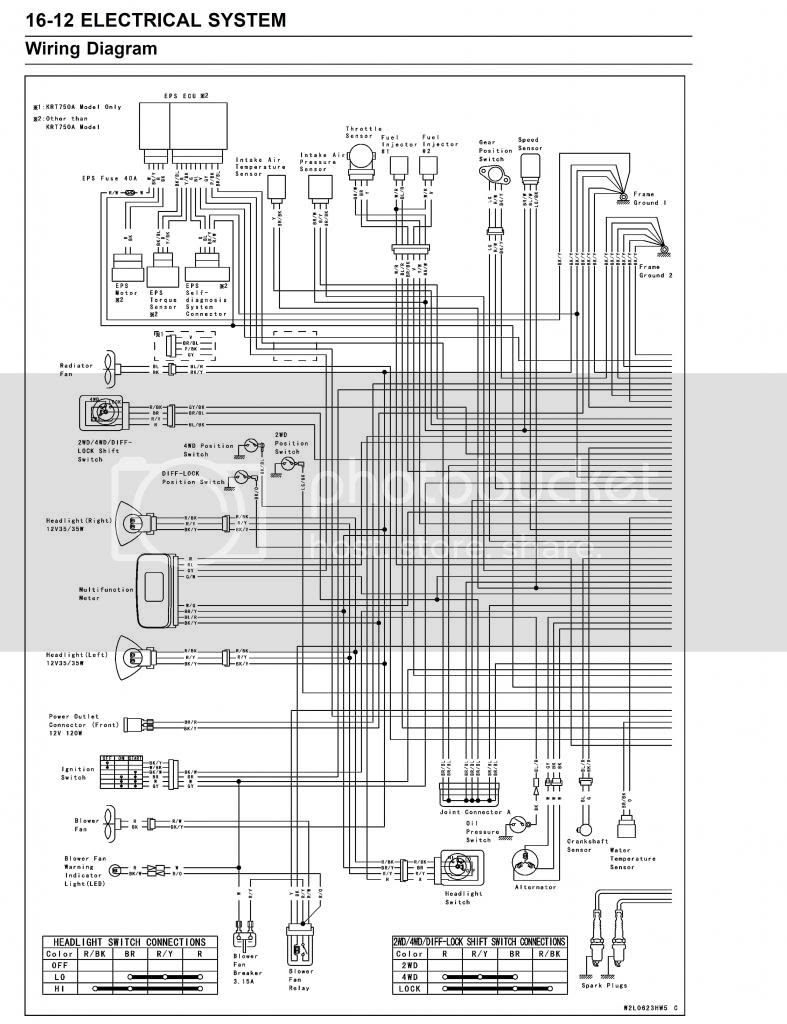 Teryx Wiring Diagram