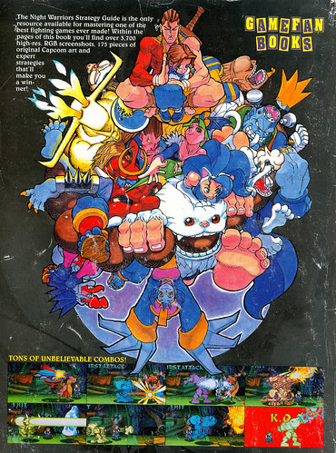 darkstalkers nightwarriors