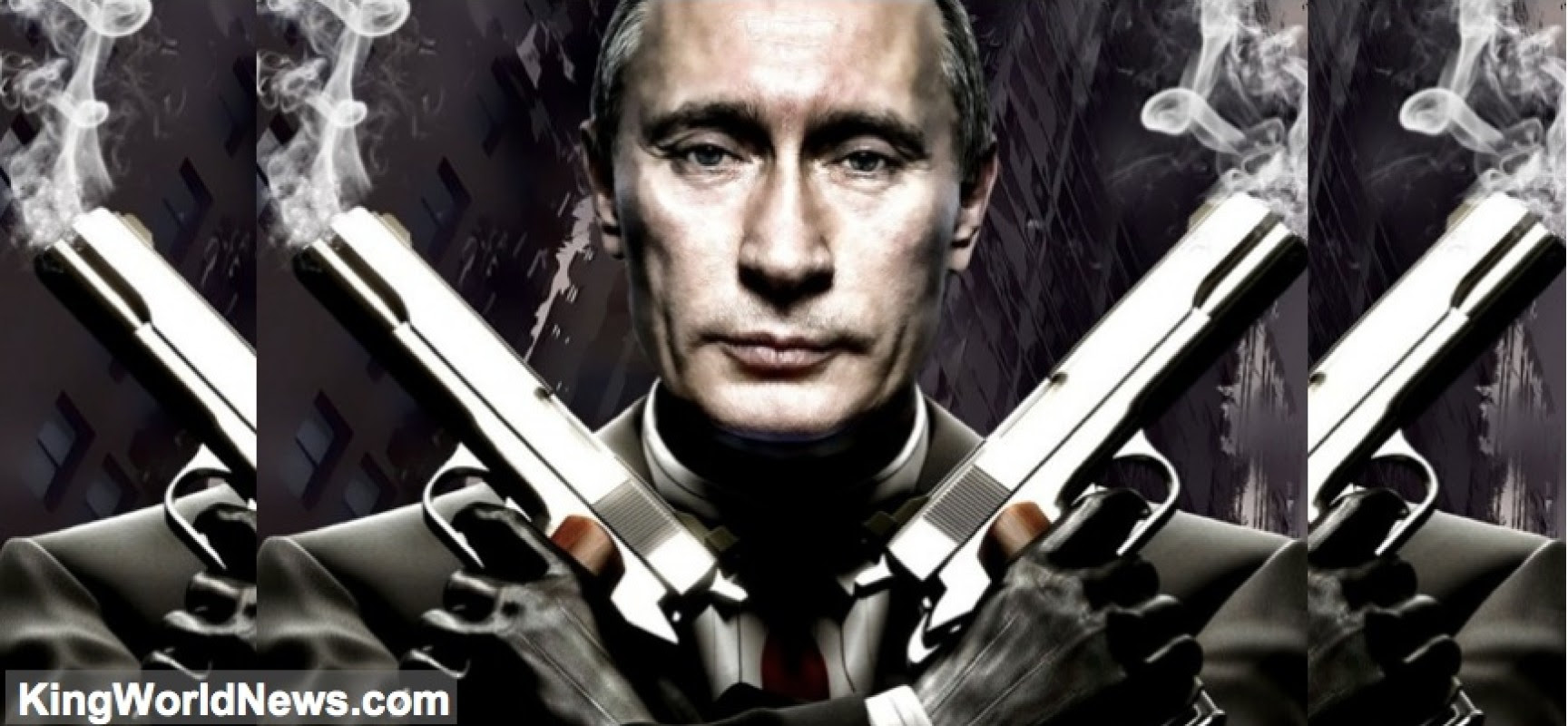 Putin Draws Line In The Sand As West's Major Oil Companies Push For War