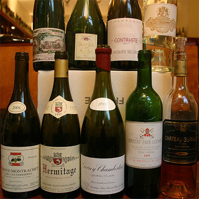 All 9 wines...