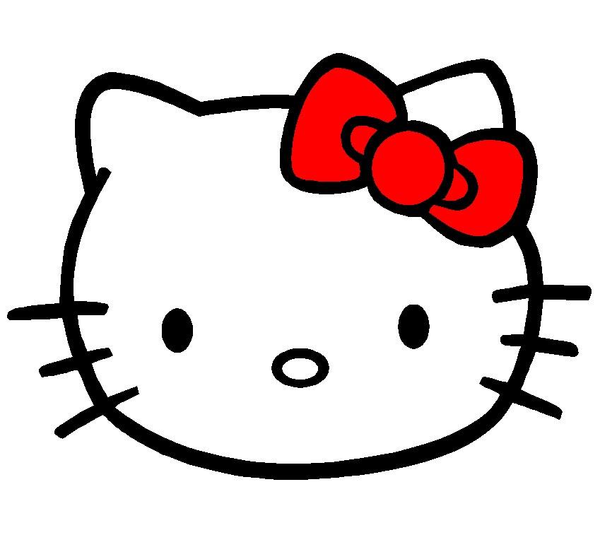 Hello Kitty Clip Art Clipartsco