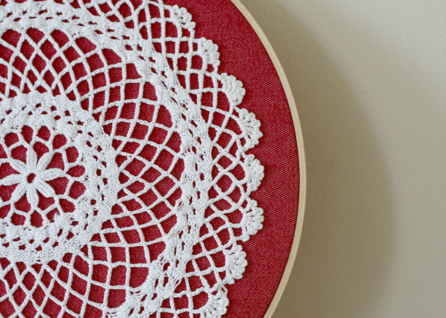 Doily wall art | Flickr - Photo Sharing!
