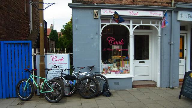 At Cools Ice Cream Shop, Gullane